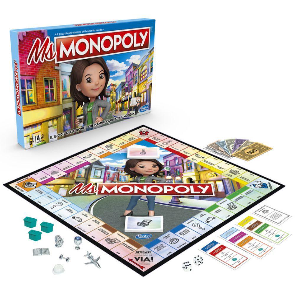 Monopoly Ms. Monopoly E8424