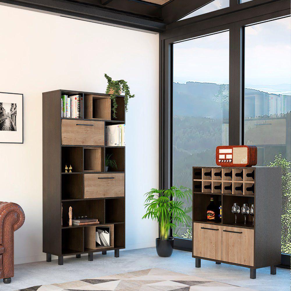 Biblioteca + Bar Kaia - Wengue / Miel