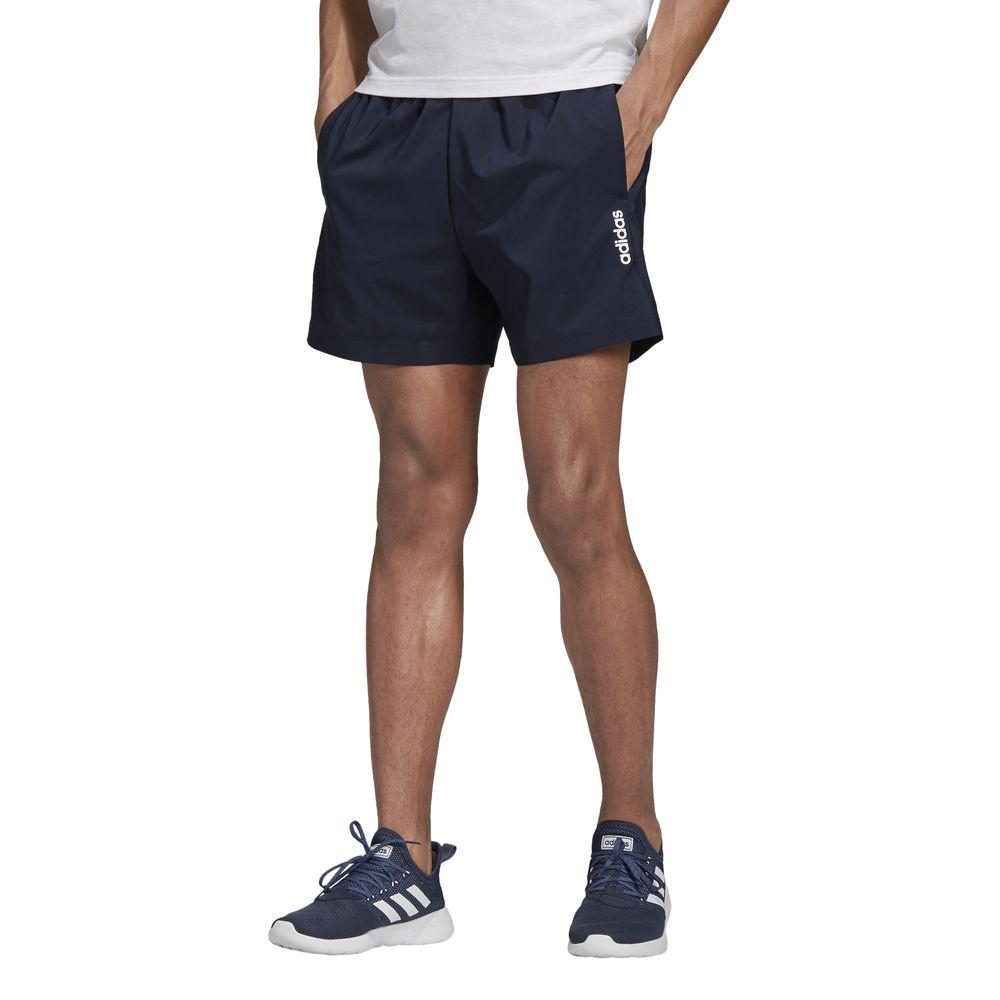 Short Deportivo Adidas Hombre Du0375 Essentials Plain Chelsea Azul
