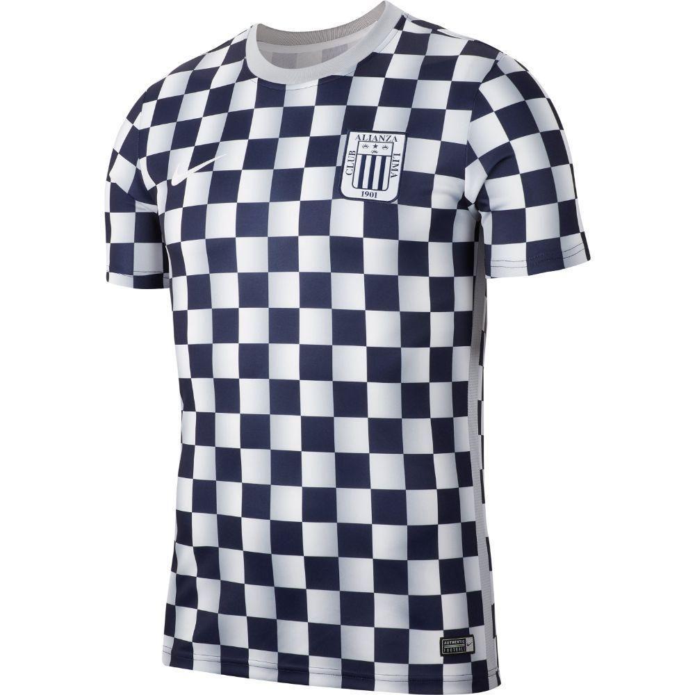 Camiseta Alianza Lima Nike Entramiento 2020 Hombre Cj8170-498al Dry Top S Negro