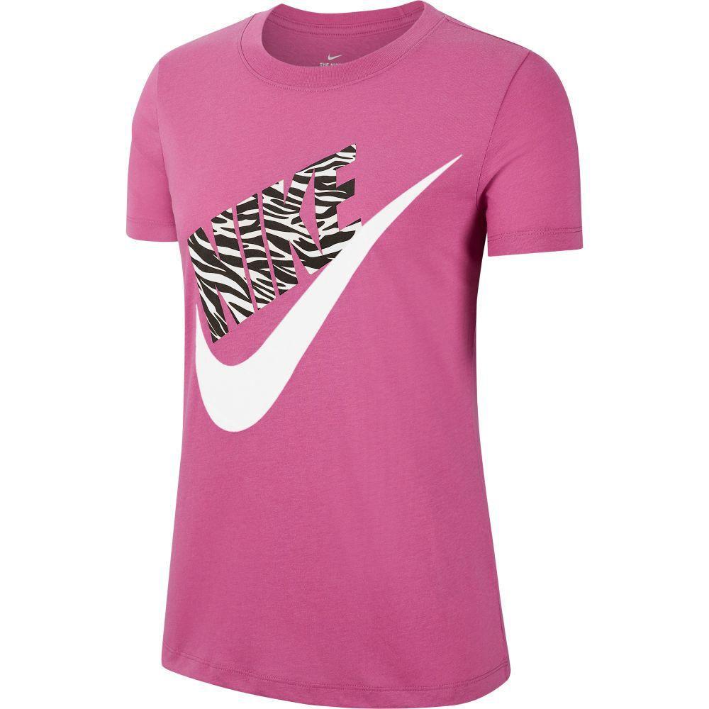 Camiseta Deportiva Nike Mujer Ck4361-691 Tee Prep Fucsia