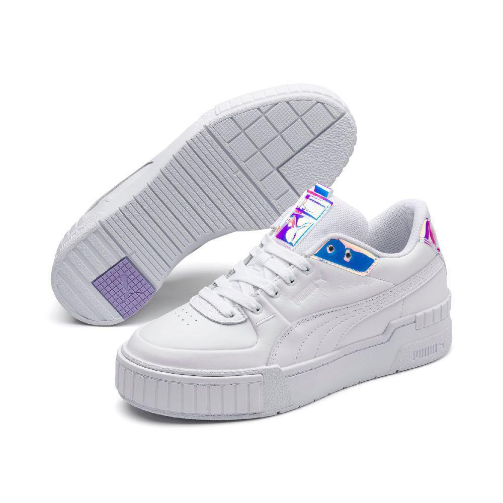 Zapatillas Puma Mujer 373083 01 Cali Sport Glow Wn's Blanco
