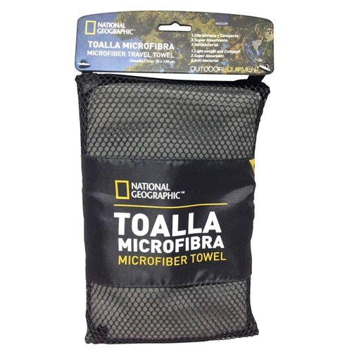 Toalla Microfibra Secado Fácil M Gris