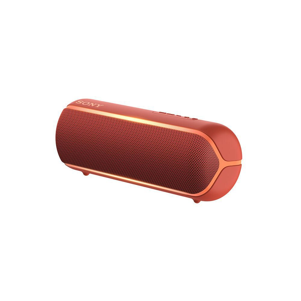 Parlante inalámbrico Bluetooth Waterproof SRS XB22 Rojo