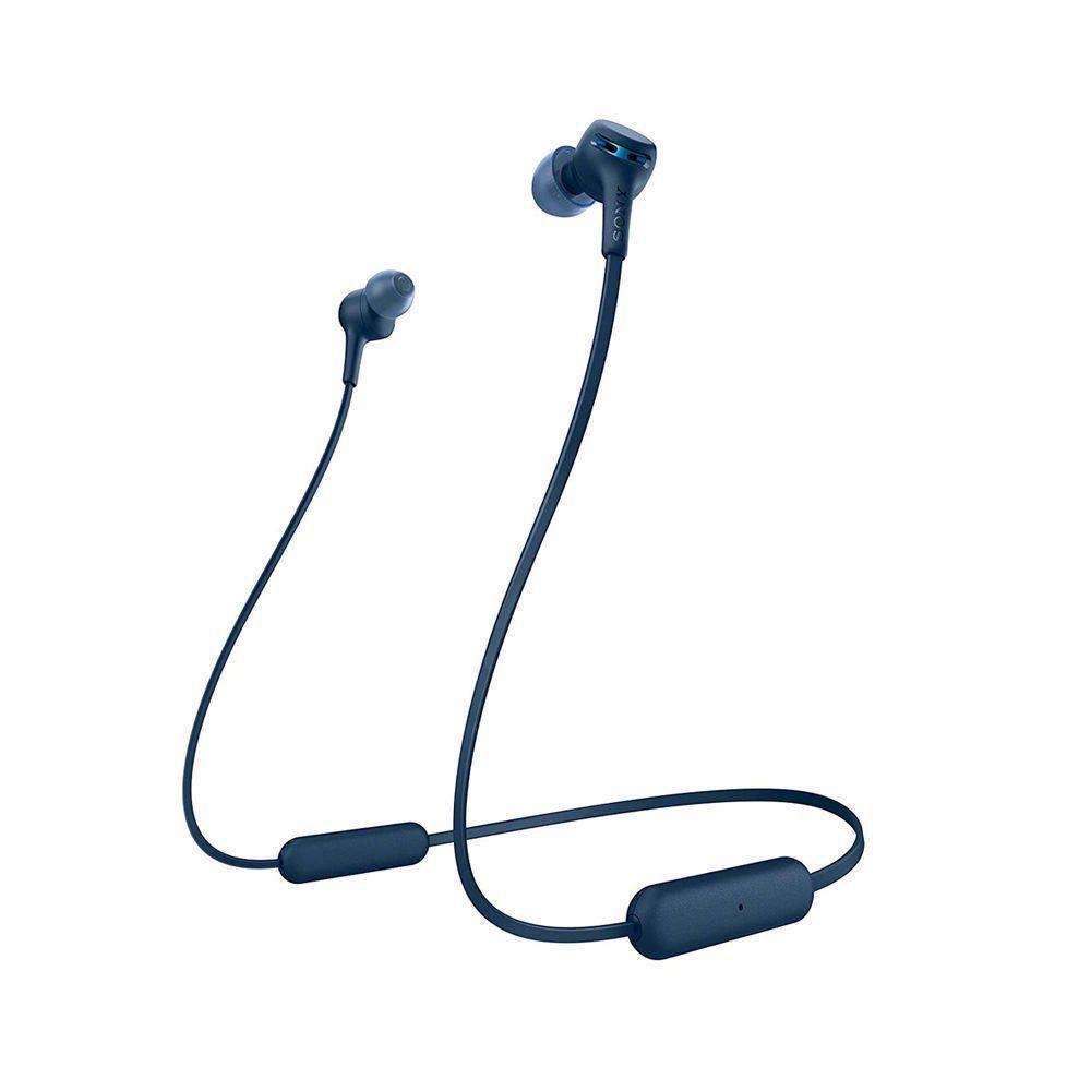 Audífonos In Ear Bluetooth Extra Bass WI XB400 Azul