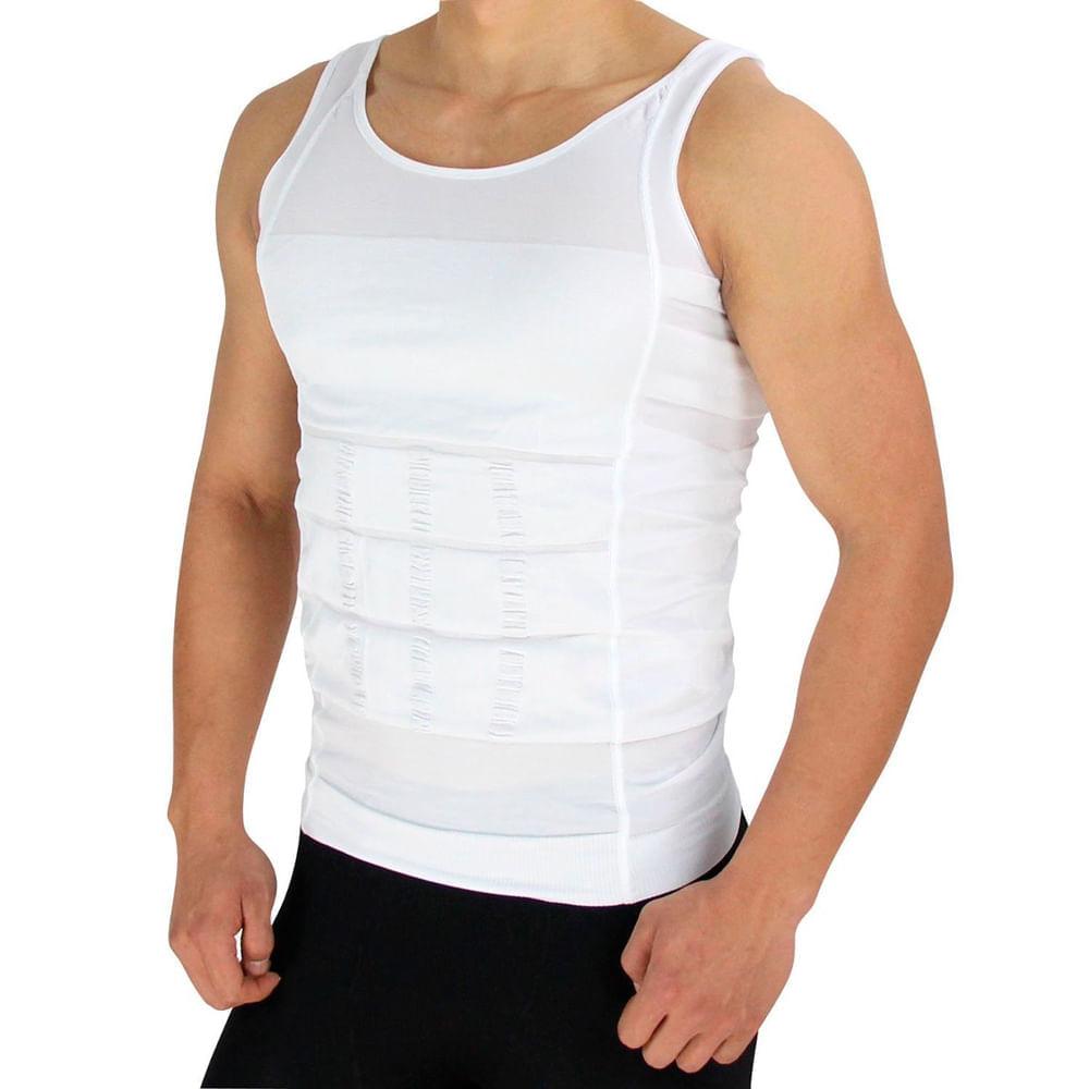 Camiseta Reductora y Correctora de Postura Blanco TallaM