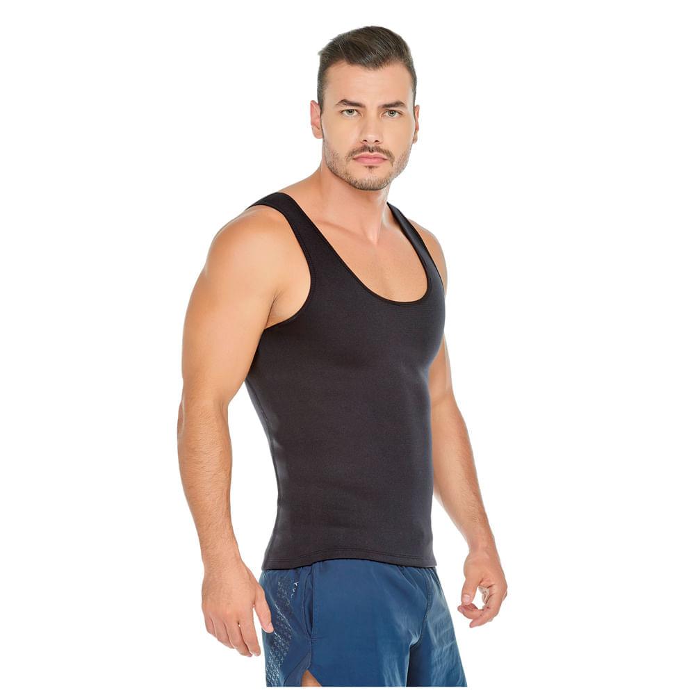 Camiseta Reductora y Correctora de Postura Negro Talla XXL