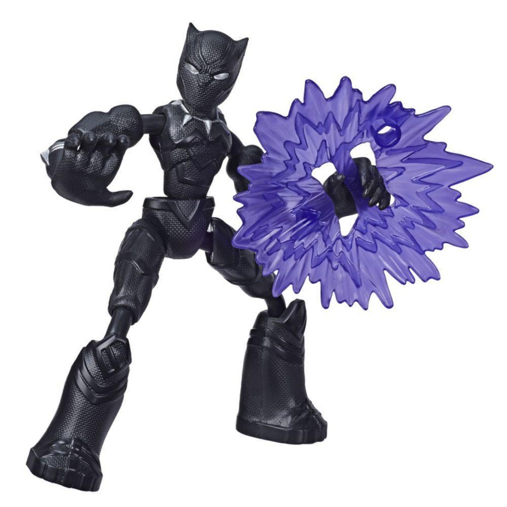 Figura de Acción Flexible Bend and Flex Pantera Negra E7377