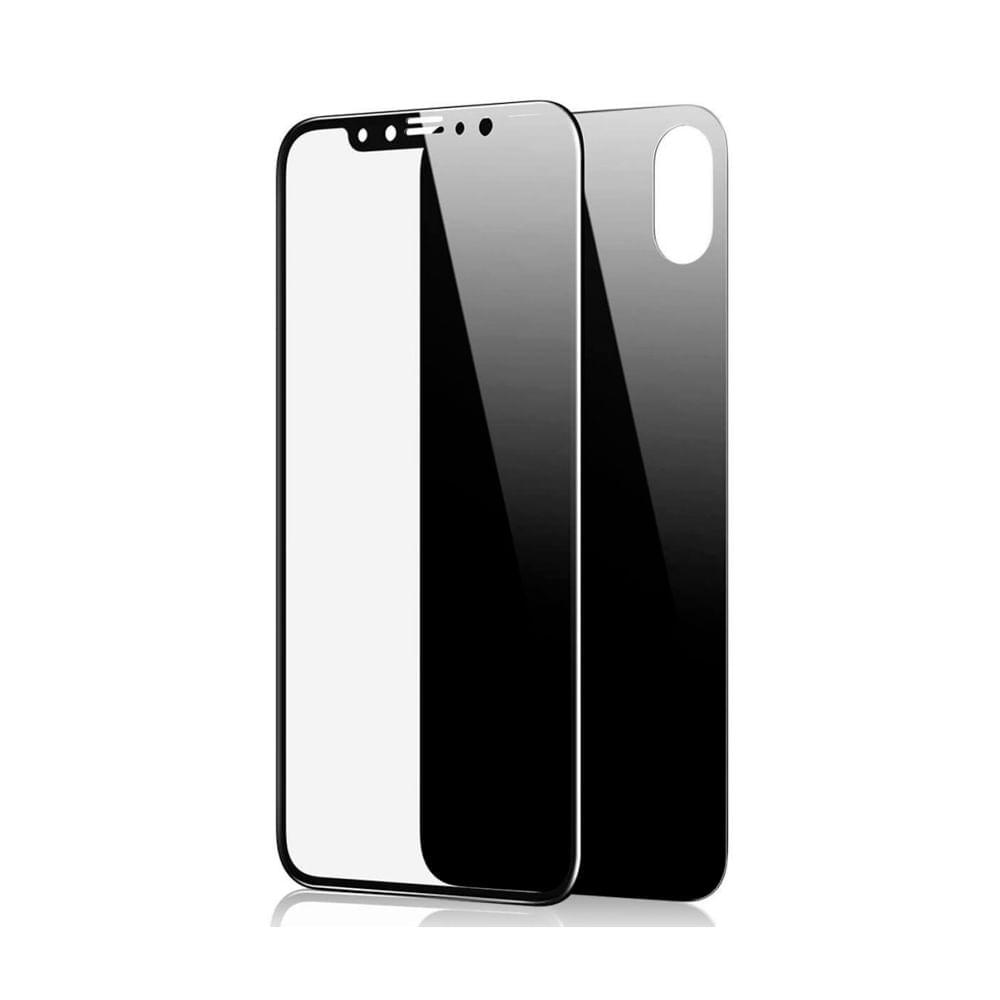 Vidrio Templado 4d para Iphone X XS Ambos Lados