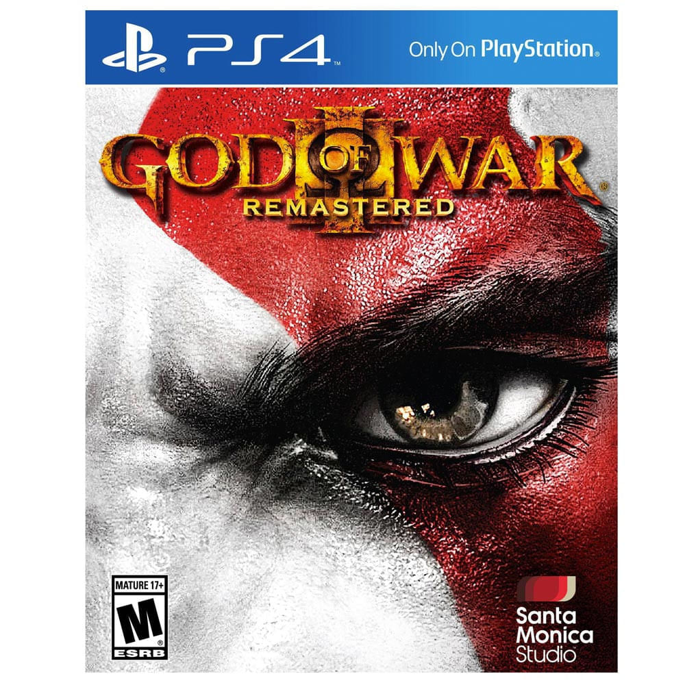God of War 3 Remastered PlayStation 4