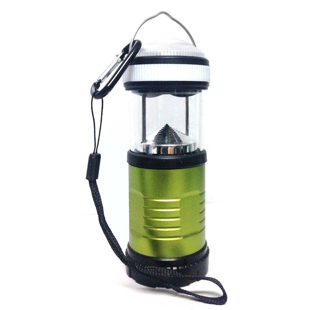 Lámpara Camper Verde - National Geographic-LNG6248-Verde con negro