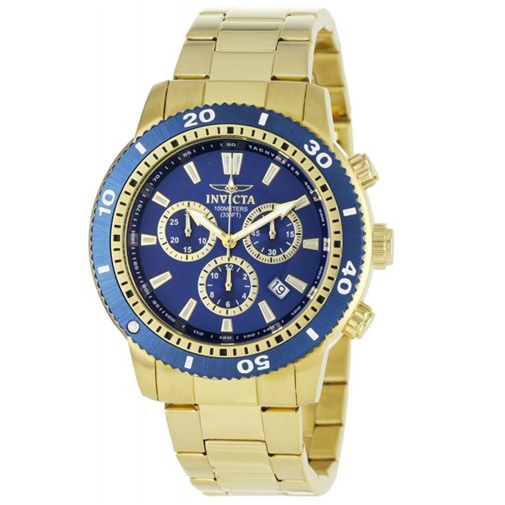 3ebe971b5fa9 Invicta Reloj 1205 Hombre Dorado - oechsle