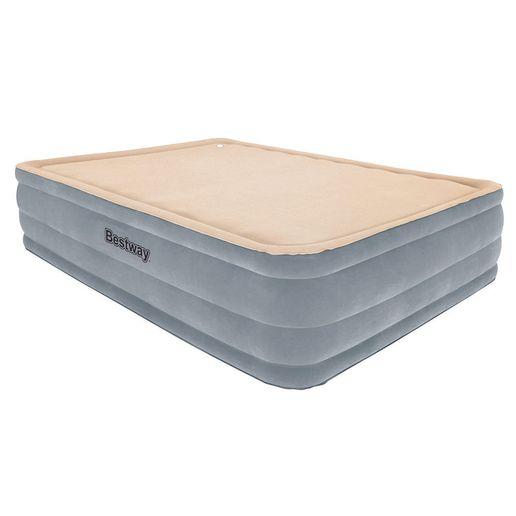 Bestway-Colchon-Premium-Foamtop-Gris-Crema-977327