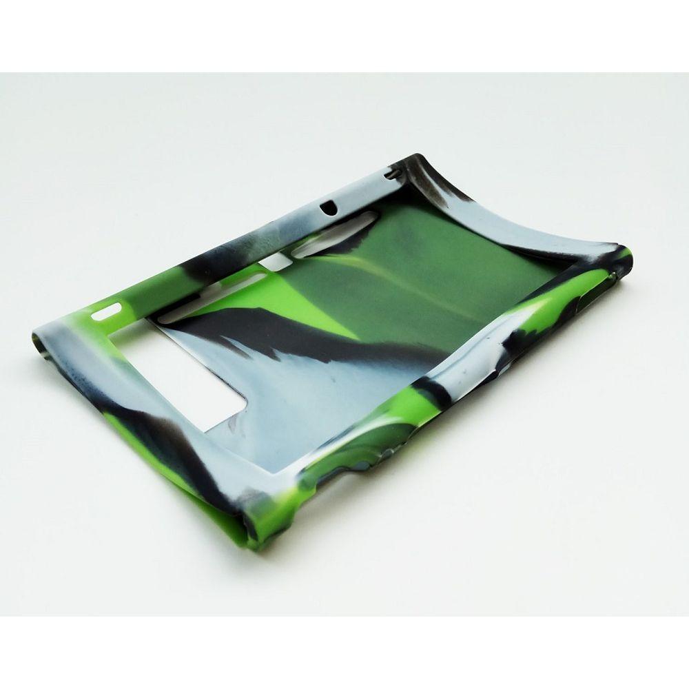 Funda Silicona Consola Nintendo Switch Camuflado Verde