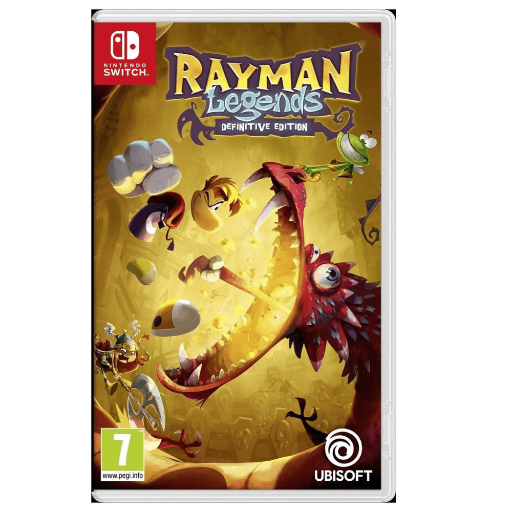 Juego Nintendo Switch Rayman Legends Definitive Edition