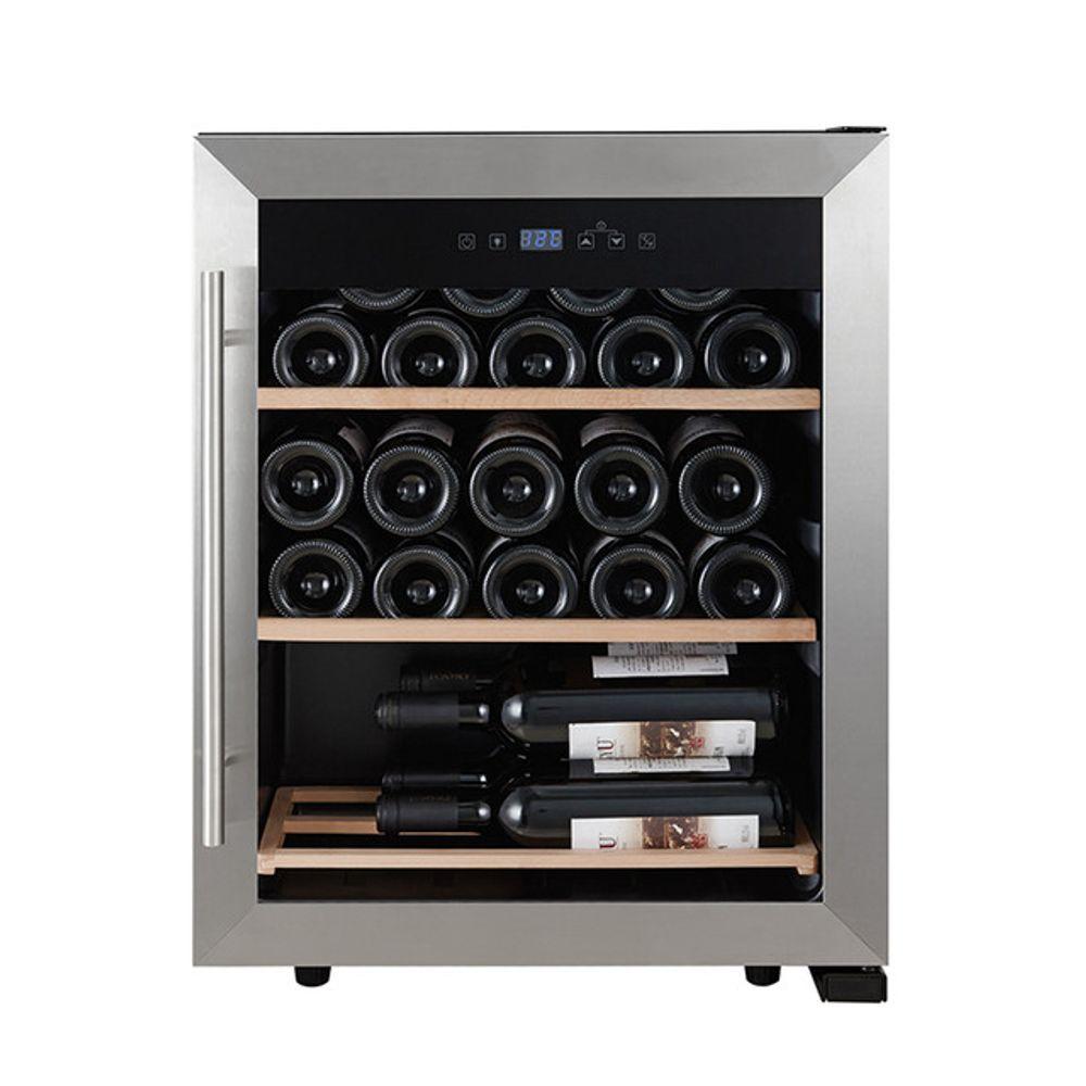 Vinera Professional Series PS-WC239PE 60 Litros 23 Botellas Silver con Negro