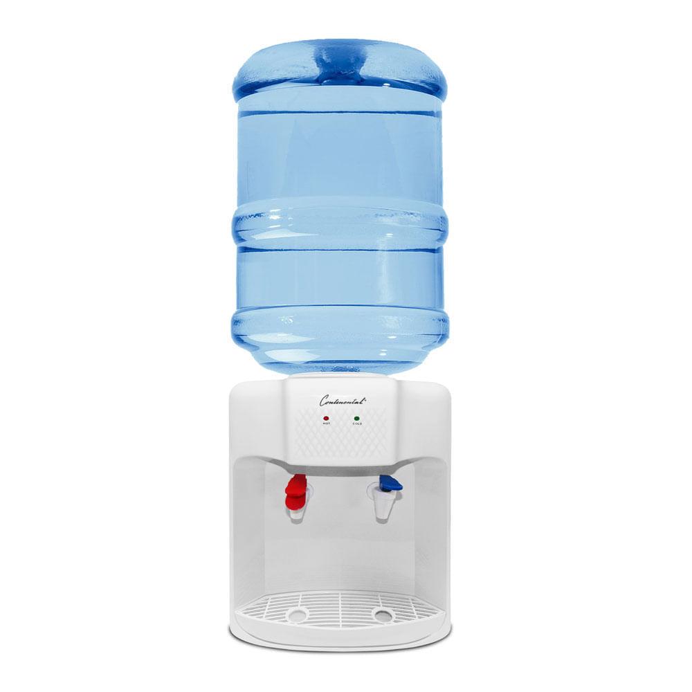 Dispensador de agua fría y caliente Continental CE-WD211PE De Mesa Blanco