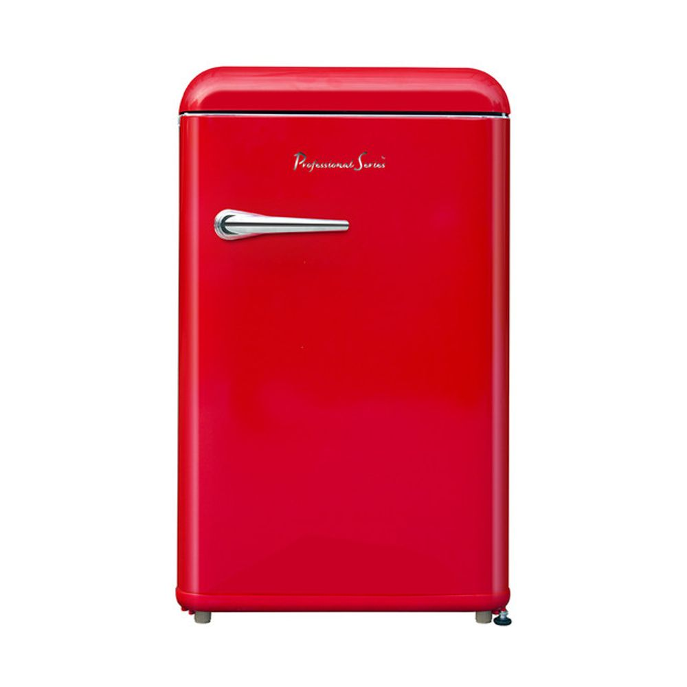 Frigobar Retro Professional Series PS09353PE 125 Litros Frost Rojo