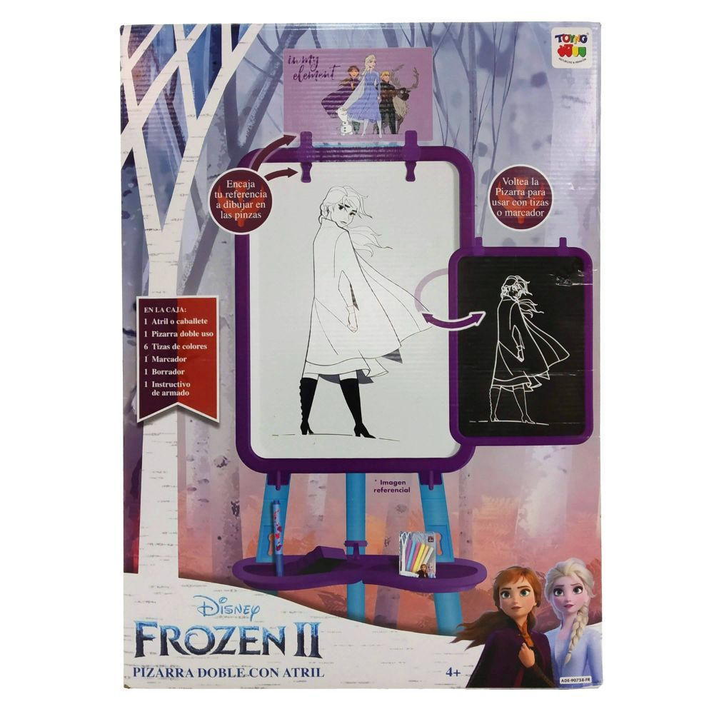 Pizarra Doble Frozen