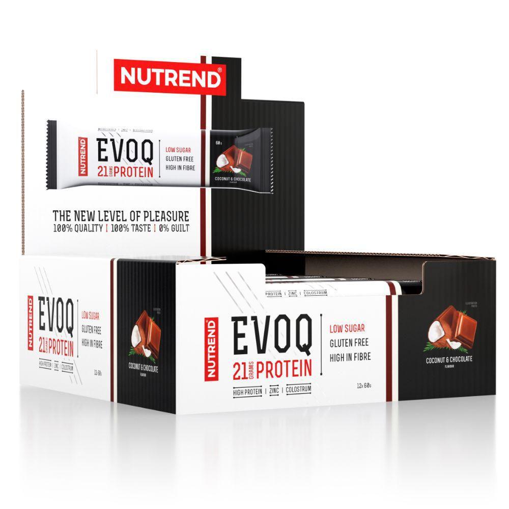 Barras de Proteína Nutrend 60g. Con Calostro y Zinc. Sin Gluten  -  Chocolate Coco - Barras de Proteína Nutrend 60g. Con Calostro y Zinc. Sin Gluten - Chocolate Coco