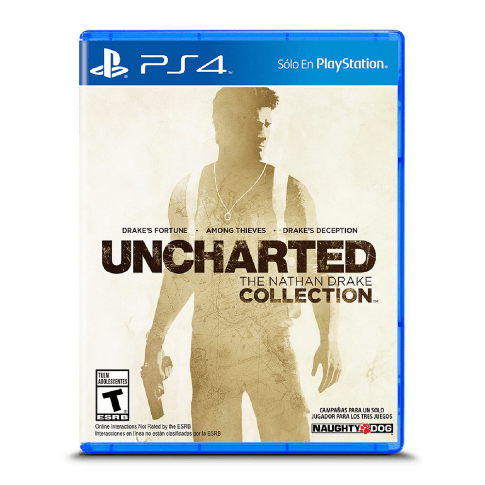 Juego Ps4 Uncharted: The Natham Drake Collection