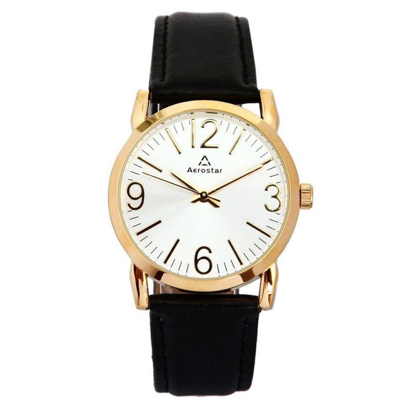Aerostar-Reloj-64121-Mujer-Dorado-Negro