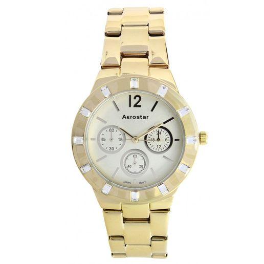 Aerostar-Reloj-65229-Mujer-Dorado