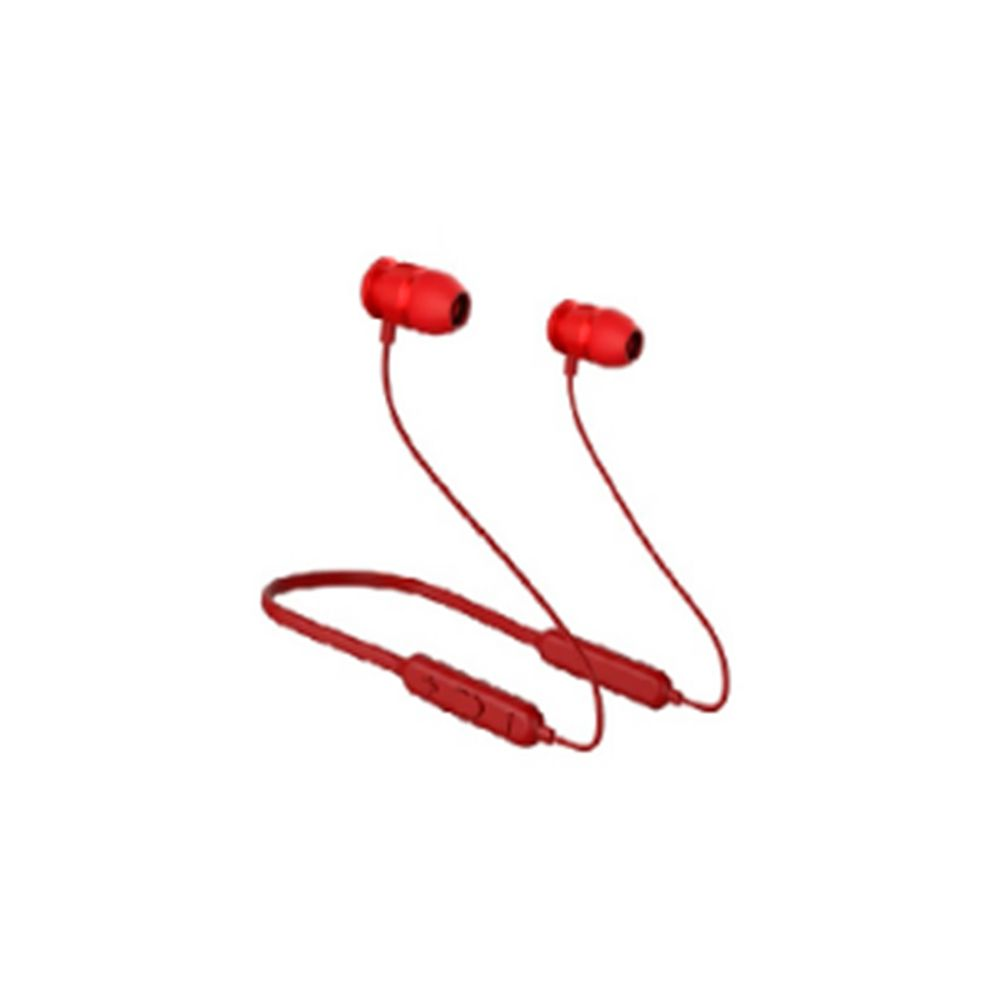 Audífonos Inalámbricos deportivo Miniso Rojo