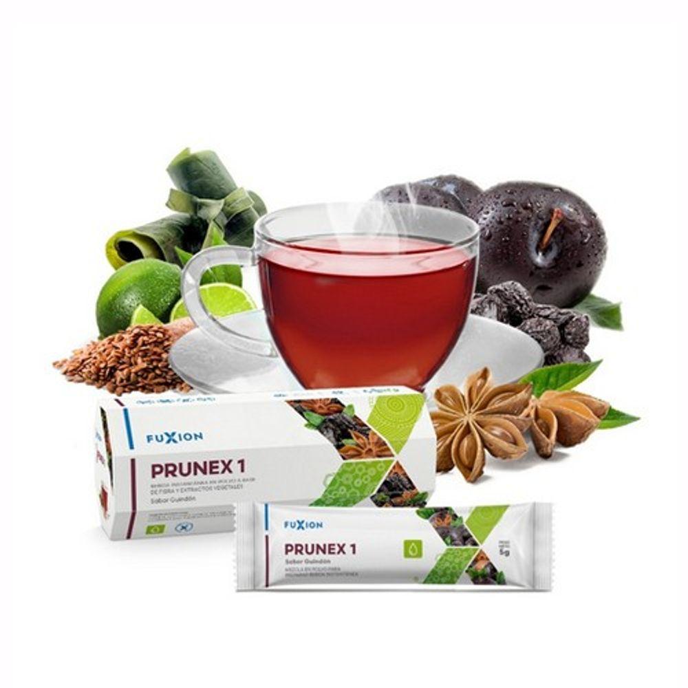 Prunex1 -Té herbal con efecto laxante Caja x 7g