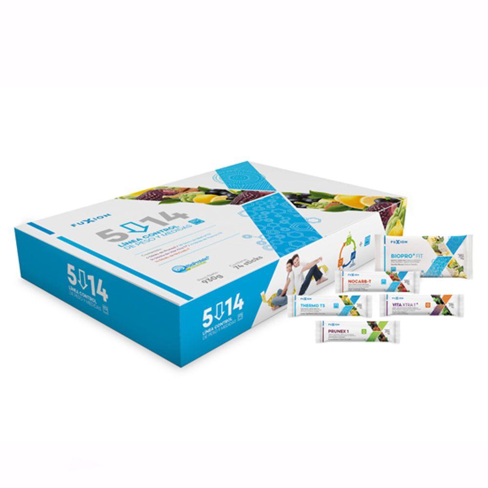 Pack 5/14 Sistema Completo para Bajar 5 Kilos En 14 Días
