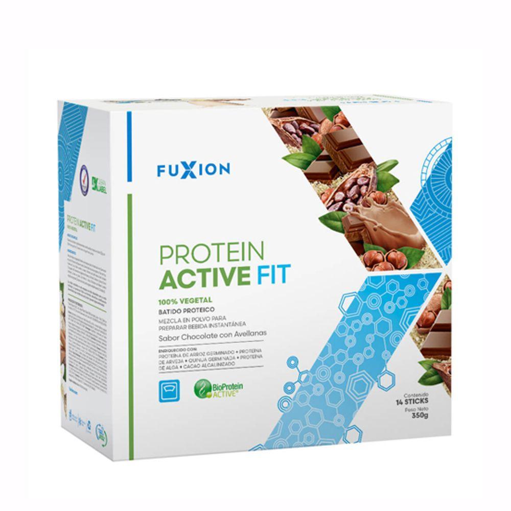 Protein Active Fit - Proteína Germinada - Chocolate con Avellanas Caja 14x 25g