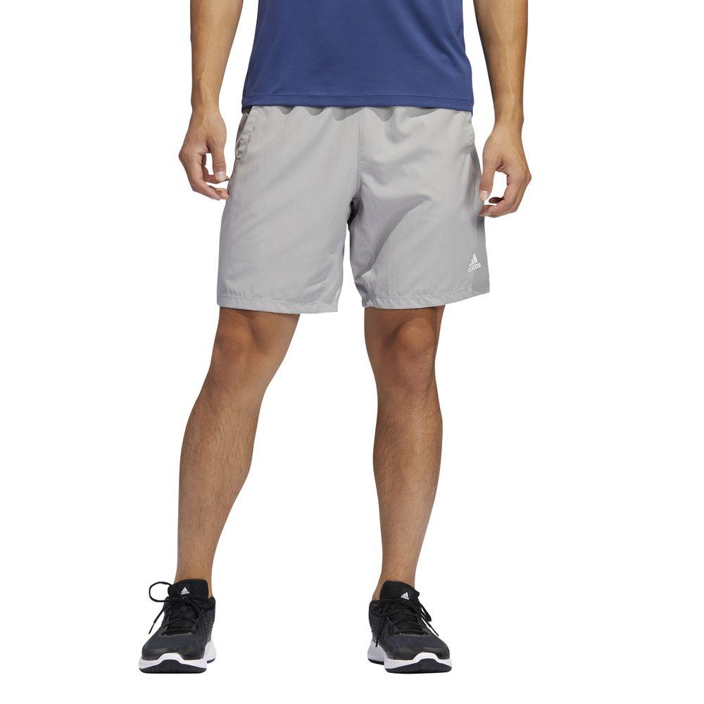 Short Deportivo Adidas Hombre 4K_Spr Z Wv 8 Gris