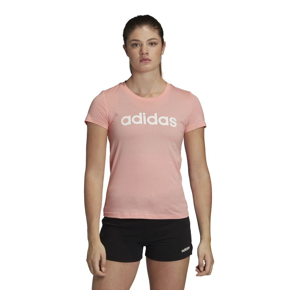 Polo Adidas Mujer Fm6423 W E Lin Slim T Rosado