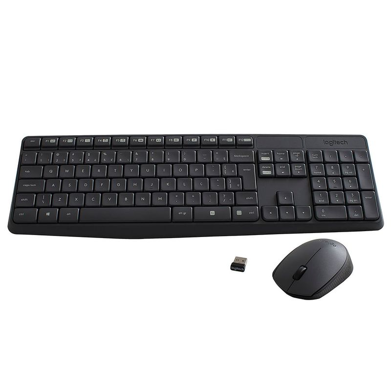 Logitech-Teclado-Mouse-MK235-Negro