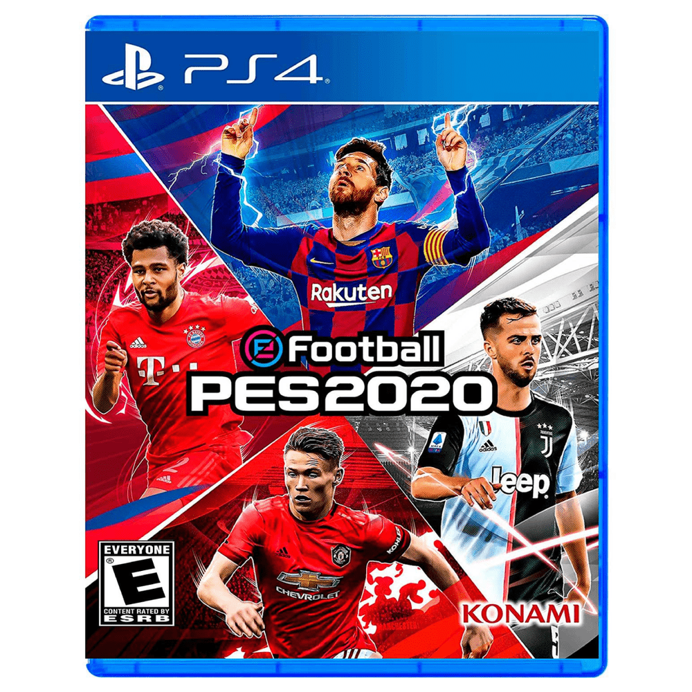 Juego Ps4 Pro Evolution Soccer Pes 2020 Efootball