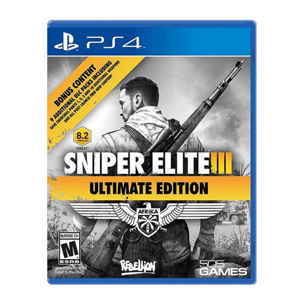 Juego Ps4 Sniper Elite 3 Ultimate Edition