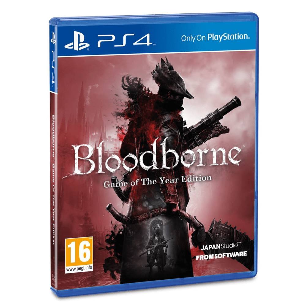 Juego Ps4 Bloodborne Game Of The Year (Eu)