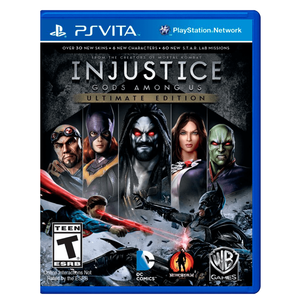 Juego Ps Vita Injustice Gods Among Us Ultimate Edition