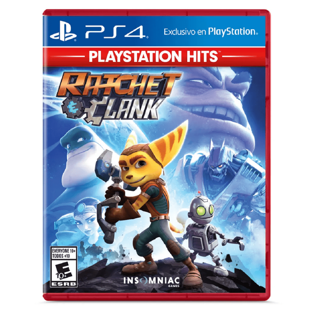 Juego Ps4 Ratchet & Clank
