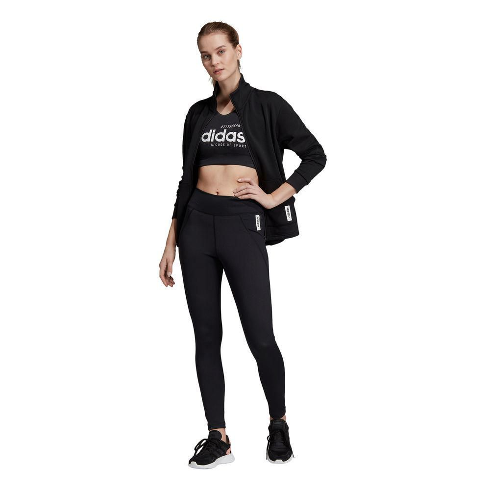 Malla Deportiva Adidas Mujer W BB Tight Negro