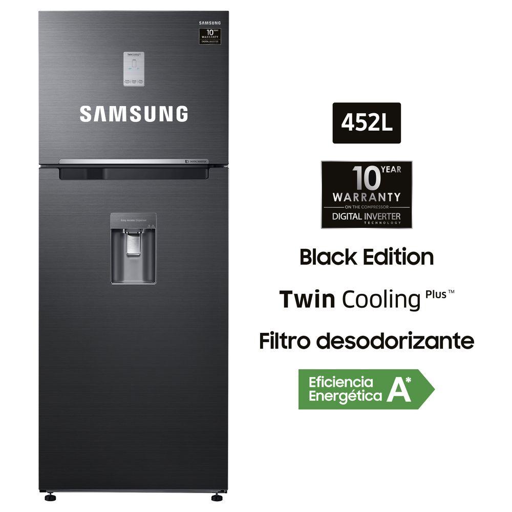 Refrigeradora No Frost 452L Negro Inox RT46K6631BS/PE