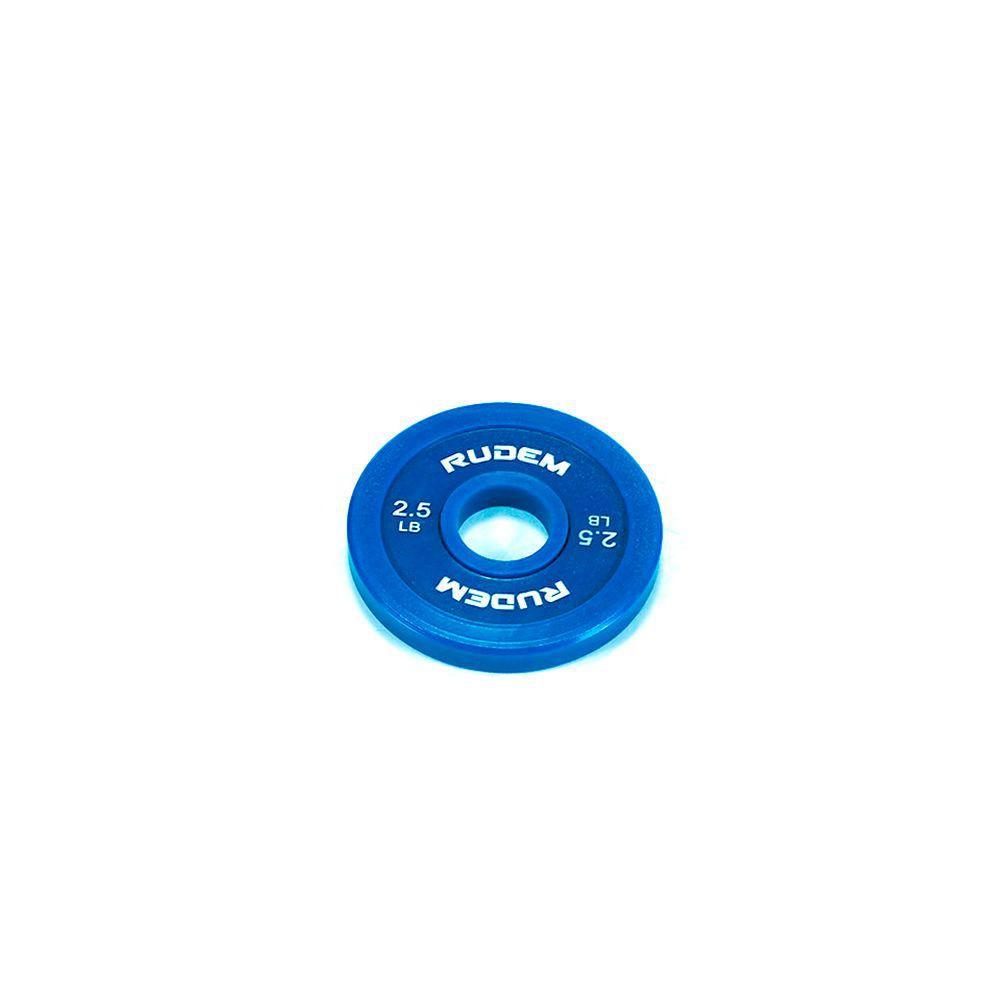 Disco de Goma Rudem Change Plates 2.5 Lb.