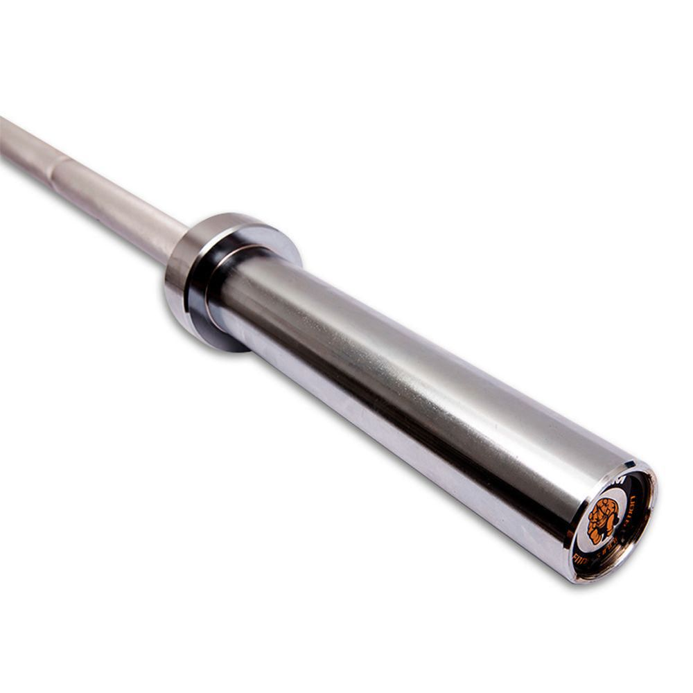 Barra Técnica de levantamiento de pesas de aluminio Rudem 7 Kg.