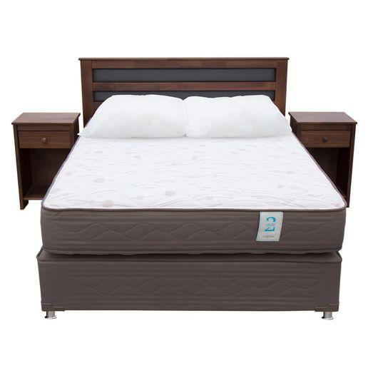 Camas y colchones dormitorio oechsle for Cama queen rosen