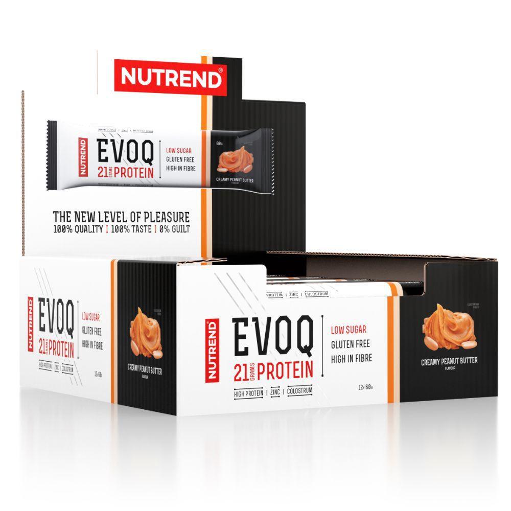 Barras de Proteína Nutrend 60g. Con Calostro y Zinc. Sin Gluten - Peanut Butter