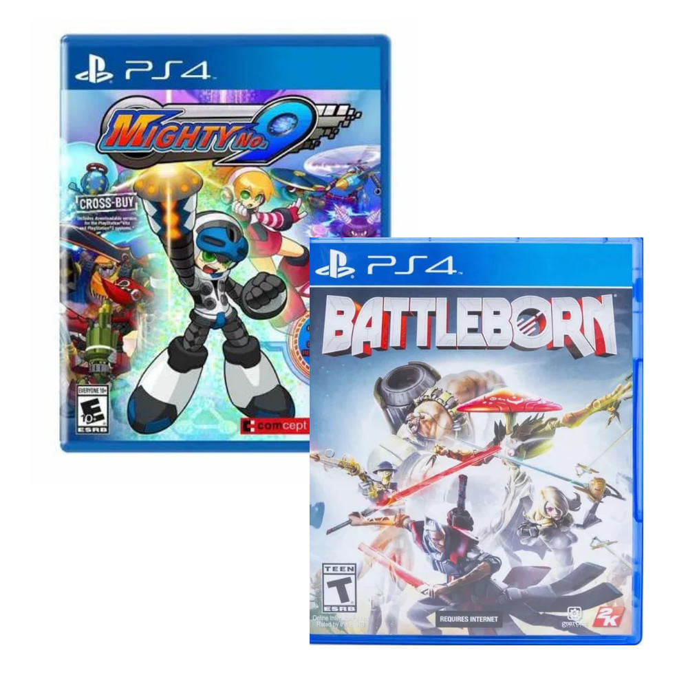 Pack PS4 Battleborn + Mighty N.09