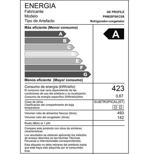 Refrigeradora Fdr Pnm25fskcss 694l Inox