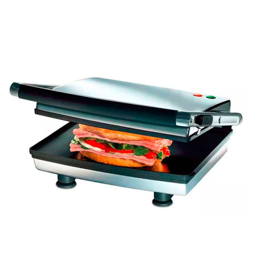 Sandwichera 3884 Press Grill Plateado