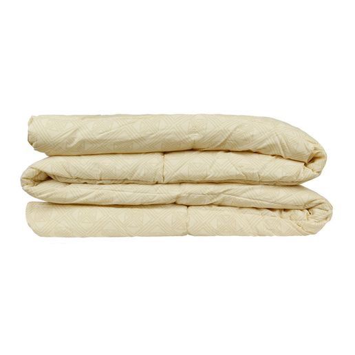 Edredon-100--algodon-180-hilos-1.5-plazas-rombos-beige