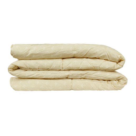 Edredon-100--algodon-180-hilos-2-plazas-rombos-beige